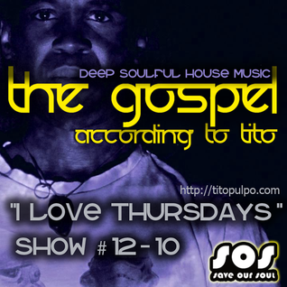 """I Love Thursdays"" - Deep Soulful house music radio show"