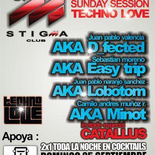 Easy Trip @ Stigma Club 25/09/2011 Part 1