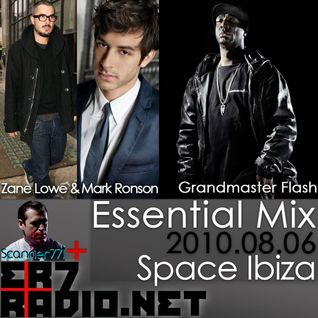 Zane Lowe, Mark Ronson, Grandmaster Flash - BBC Essential Mix (2010-08-06)