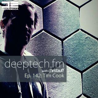 DeepTechFM 142 - Tim Cook (2016-05-26)