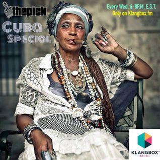 The Pick Show #11 CUBA SPECIAL w/ guests Donna Hughes Freeman & Jenny Perez (Klangbox.fm) 5/27/15