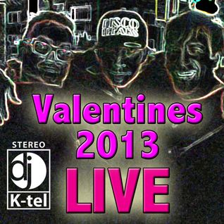 DJ K-Tel Live at Valentines Day 2013 with Czech and Hoola at the Bunker