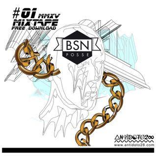 antidoto28 mixtape #01 mixed by BSN posse