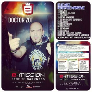 Doctor Zot @ E-Mission Festival 2014 - Fade To Darkness