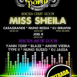 Miss Sheila - Live @ São João 2012, Swing Club, Porto, Portugal (23.06.2012)