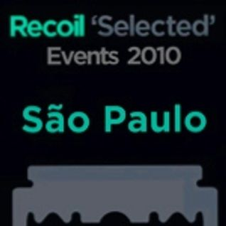 Marcelo Vitorino & Ly Gore (SFM) - DJ Set opening for RECOIL @ Inferno Club, SP - Nov 10, 2010