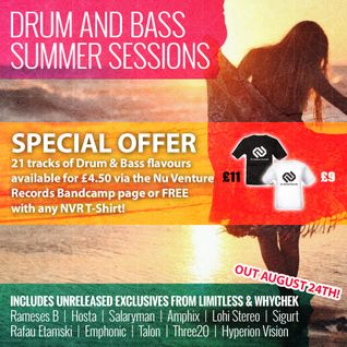 NVR011: Drum & Bass Summer Sessions [21 Tracks £4.50 or FREE with ANY T-Shirt! OUT NOW!]