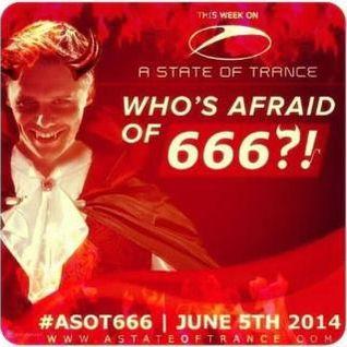 Armin van Buuren - A State Of Trance 666 (Dark Evil Episode Special)
