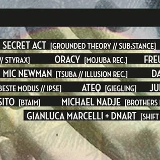 Gianluca Marcelli B2B DNArt @ IPSE Closing Party Berlin 20.09.2014 pt1
