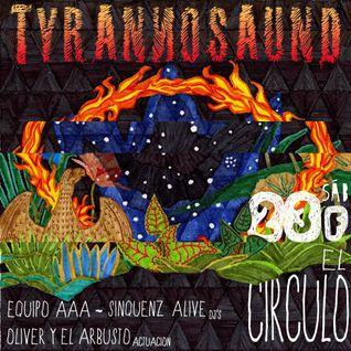 SINQUENZ ALIVE - LIVE AT TYRANNOSAUND PHOENIX PARTY - EL CIRCULO - CUENCA (ES) 23-02-2013