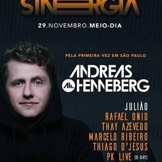 Sinergia Andreas @ Garage Club 29-11-2015
