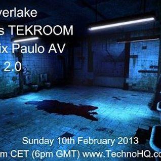TEKROOM EPISODE 2.0 (with special guest Paulo AV)
