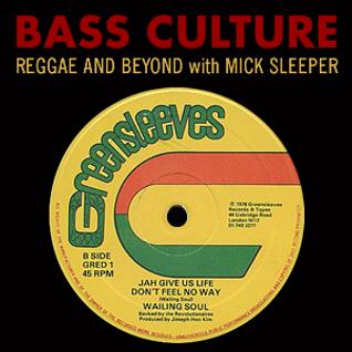 Bass Culture - July 25, 2016