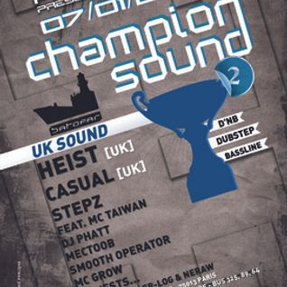 Stepz - Champion Sound 2 Mix