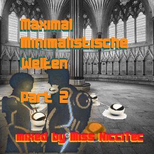 Miss NicciTec - Maximal Minimalistische Welten - Part 2