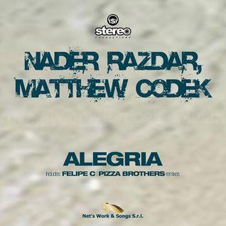 Nader Razdar & Matthew Codek - Alegria (Pizza Brothers Remix) (Net's Work Records)