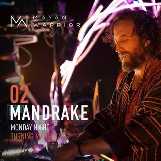 Mandrake - Mayan Warrior - Burning Man - 2016