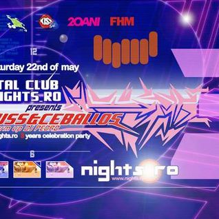 Pablo Ceballos - live @ Kristal Glam Club (22/05/2004) » Nights.ro 3 years anniversary