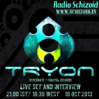 Tryon - Live on Radio Schizoid - October 2013