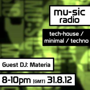 Materia - Exclusive techno mix for mu-sic radio #02