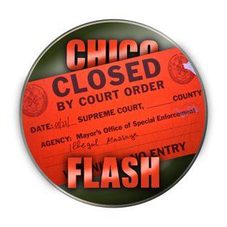 Chico's Unlicensed Massage Parlor Rubdown w/ Bonus Table Shower