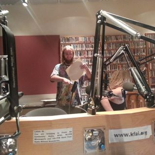 Jack Manders and Gretta Hunstiger: in Studio with DJ puar