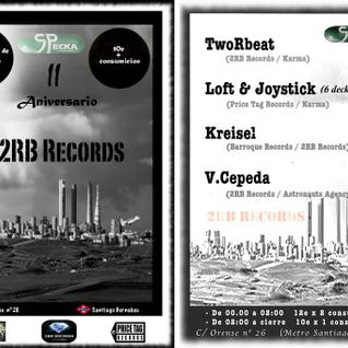 TwoRbeat @ Specka   II Aniversario 2RB Records (05/12/12)