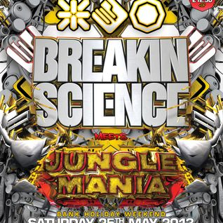Andy C & Mampi Swift - w/ Shockin & GQ - Breakin Science - 2004