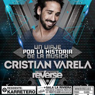 Cristian Varela live @ Reverse (Madrid) 06.12.13 Part 1