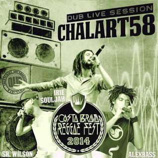 Chalart58 + Alex Bss, Irie Souljah, Sr.Wilson @ CostaBrava Reggae Festival 2-8-2014