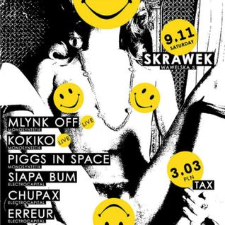 Come to acid@Skrawek_Mlynk'OFF 09-11-2013 (Warsaw)