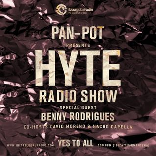 Pan-Pot - Hyte on Ibiza Global Radio Feat Benny Rodrigues - June 29