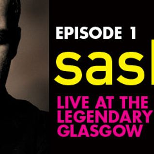 Sasha - Live at The ARCHES, Glasgow - CRP Episode 1 (02-10-2010)