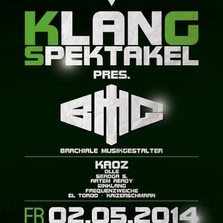 Klangspektakel - BMG & Kaoz- Mai 02 2014 - Cha Cha Westerburg