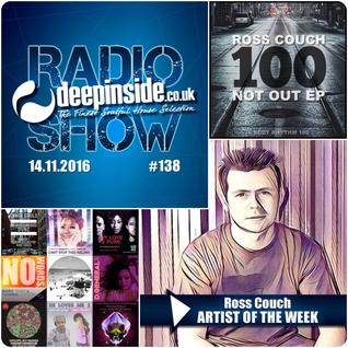 DEEPINSIDE RADIO SHOW 138 (Ross Couch Artist of the week)