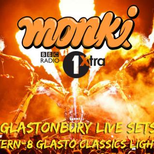 Mark Archer's  Glastonbury special 'Altern 8 lights on mix' - Monki - BBC 1Xtra - Mon 29.06.15