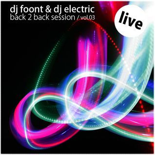 foont & electric live back 2 back vol.3 @ MOSCOW LOVE BOAT 8.01.11