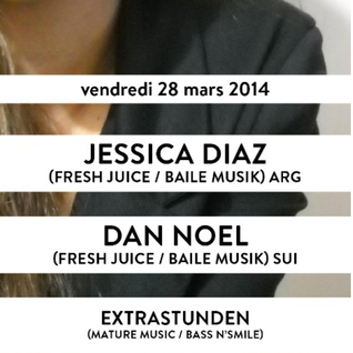 EXTRASTUNDEN Warm up set for DAN NOEL & JESSICA DIAZ @ Para Club 28.03.2014