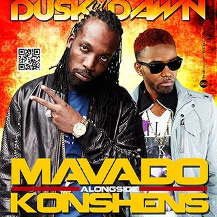 Mavado & Konshens Live @ Dusk til Dawn 2014 pt 1 King AP & Love People
