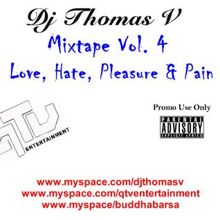 DJ Thomas V - Love, Hate, Pleasure & Pain 2008