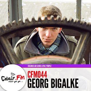 Georg Bigalke @ Colored Air Series #04 (CFM044) Purple - Colair.FM Dresden - 04.01.2013