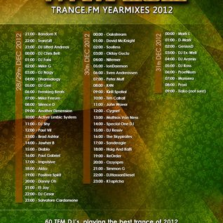 DJ Lifted Andreas - TRANCE.FM End Of Year Countdown Mix 2012