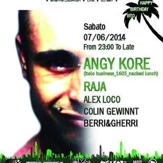 Berri&Gherri @Factory 07/06/14 (AnGy KoRe night)