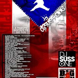 DJ Suss One - Big Pun - The Punisher Mixtape
