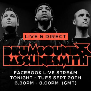 Drumsound & Bassline Smith - Live & Direct #4  (20/0916)