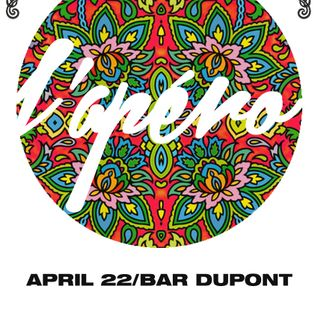 L'Apéro at Bar Dupont, April 2015