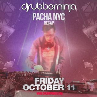 Pacha NYC Basement Recap - October 11th 2013