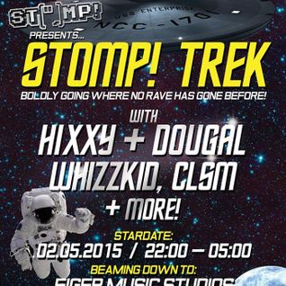 Claxton - Stomp! Trek Promo Mix - April 2015