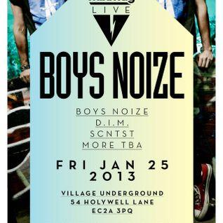 Boys Noize - Mixmag Live @ Village Underground (2013.01.25 - London, UK)