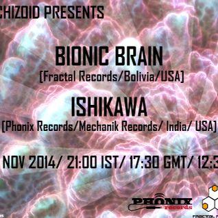 Bionic Brain - Digital Skullz [Radio Schizoid November 2014]
